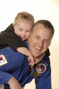Ray Sargeant - Head Instructor with daughter #2